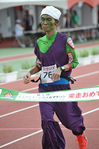 宮古島エコマラソン、仮装ランナー