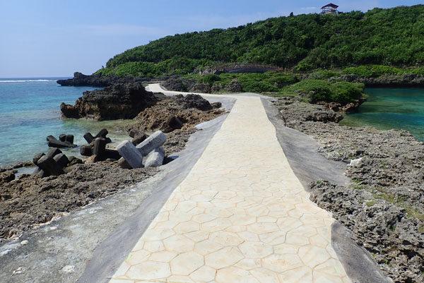 インギャーの修理された遊歩道2018