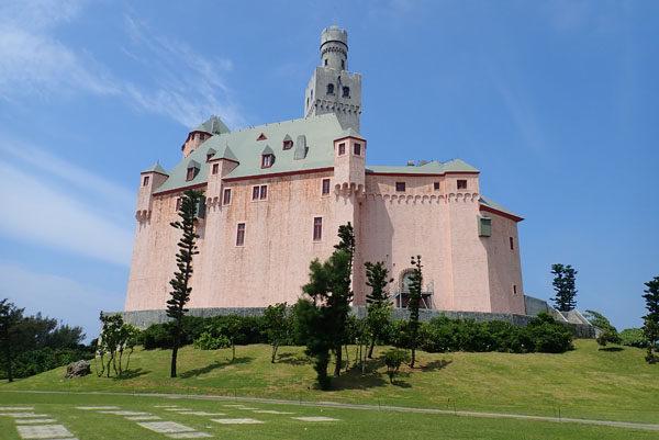 宮古島ドイツ村のお城