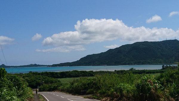 石垣島ウルトラマラソンの景観