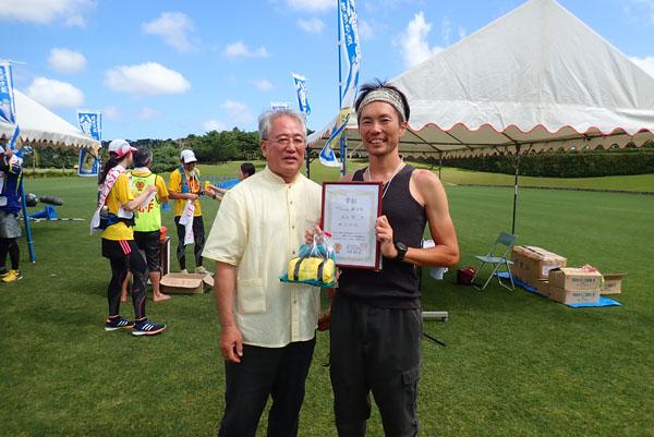 石垣島ウルトラマラソン3位!