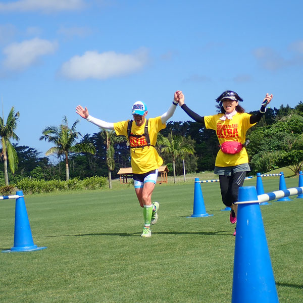 石垣島ウルトラマラソン ゴール
