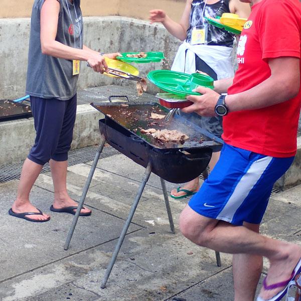 石垣島ウルトラマラソン 後夜祭 BBQ