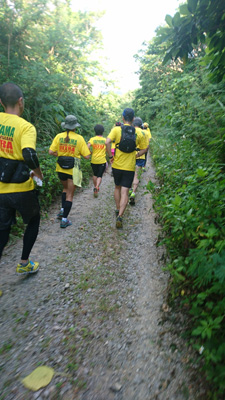 石垣島ウルトラマラソン オフロード